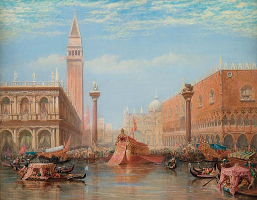 The Fête of the Marriage of the Adriatic, Venice