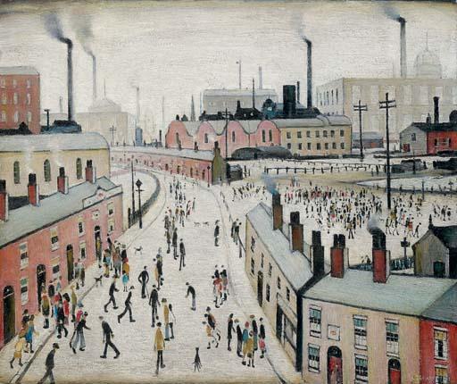 Factories, Lancashire