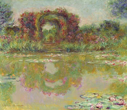 Les arceaux de roses, Giverny (Les arceaux fleuris)