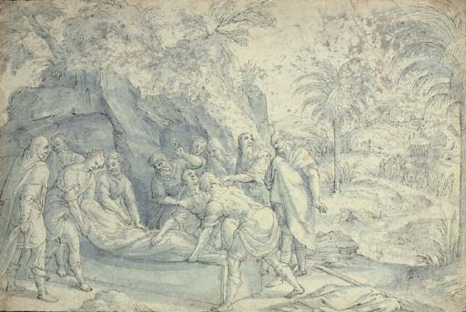 The Burial of an early Christian