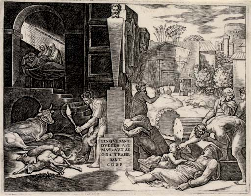 The Plague ('The Morbetto') (B. 417; S. &. B. 31)