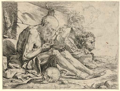 St. Jerome in the Desert (B. 3; Br. 13)