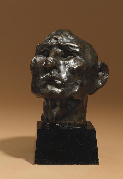 Head of an Idiot/Head of a Jew (Self-Portrait)