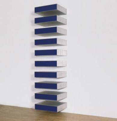 Donald judd 1928 1994 untitled 1985 85 9 lippincott for Donald judd stack 1972