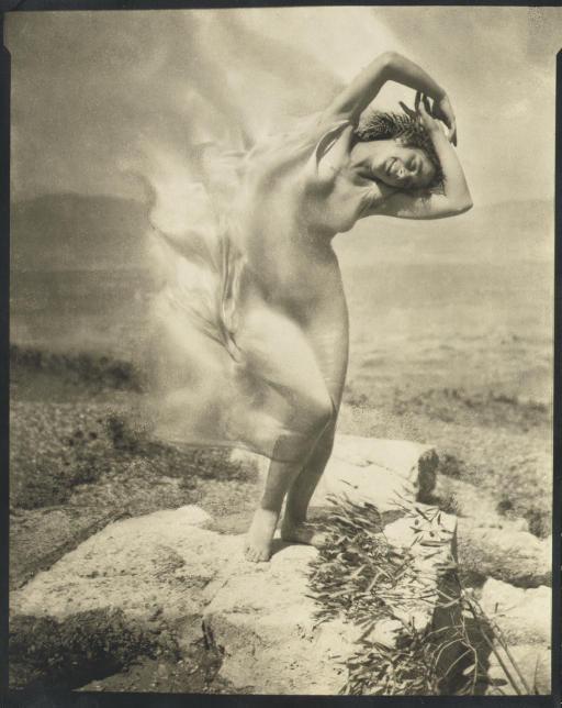 Wind Fire -- Thérèse Duncan on the Acropolis, 1921