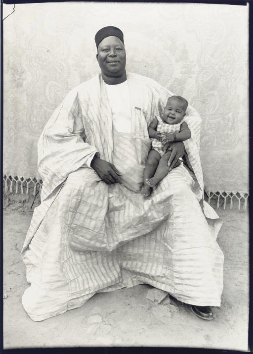 Father with daughter, 1949-54