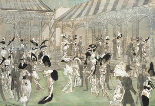 Ascot Gavotte; set and costume design for 'My Fair Lady'