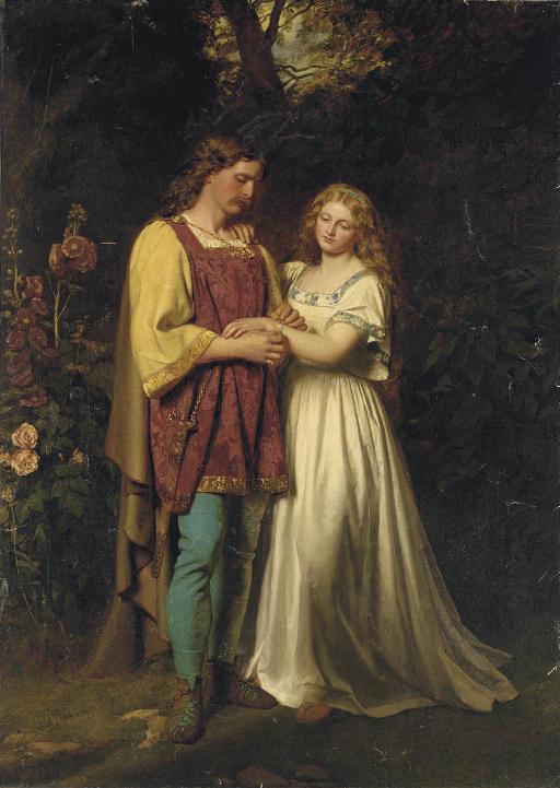 Posthumus and Imogen