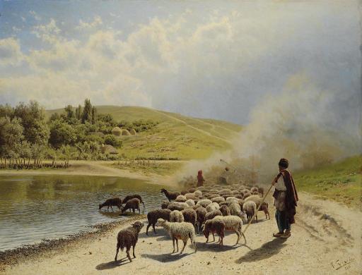 Tending the flock