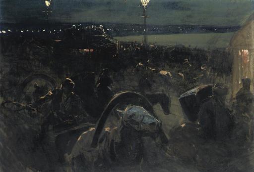 St Petersburg by night