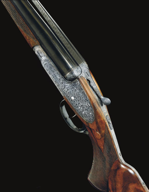 A FINE .500/.450 NITRO EXPRESS DOUBLE-BARRELLED SIDELOCK NON-EJECTOR RIFLE BY HOLLAND & HOLLAND, NO. 17988