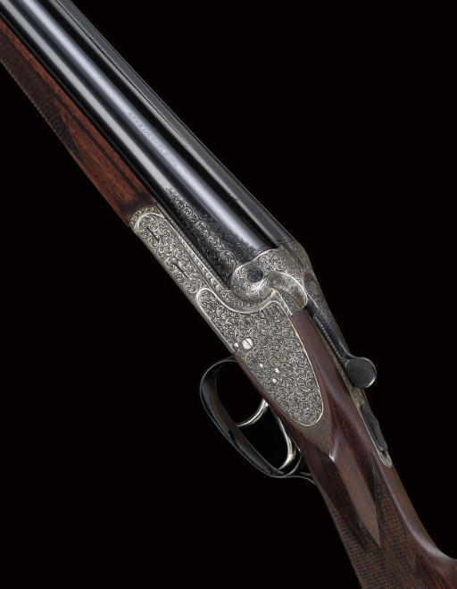 AN AS NEW 12-BORE SIDELOCK EJECTOR GUN BY GEBRUDER MERKEL, NO. 780272