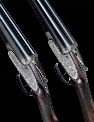 A PAIR OF 12-BORE SELF-OPENING