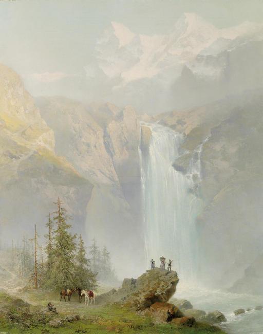 Schmadribachfall, Lauterbrunnen Valley