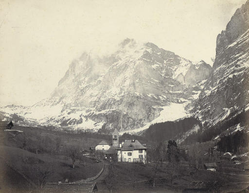 Vue Suisse -- The Wetterhorn from Grindelwald