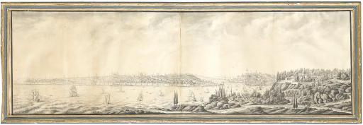 View of Constantinople, circa 1750