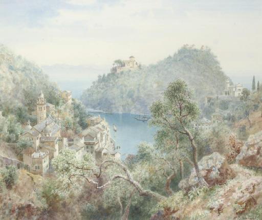 View of Portofino, near Genoa