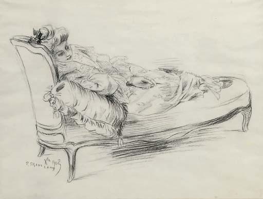 Lady reclining