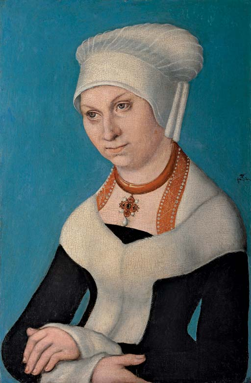 Portrait of Barbara Duchess of Saxony (1471-1539)