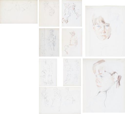 Three sketch albums: Album no. 2, 1930-1937 (74 pages); Album no. 4, 1934-1937 (77 pages); Album no. 6, 1938-1939 (26 pages)