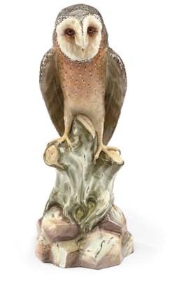 A MEISSEN MODEL OF AN OWL