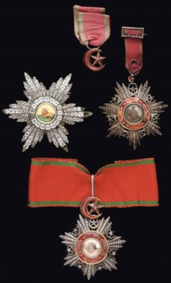 TWO OTTOMAN MECIDI ORDERS AND