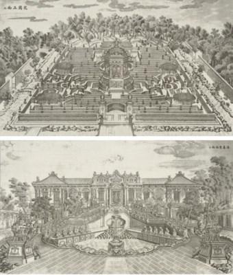 39 palais pavillons et jardins construits par giuseppe for Au jardin du port le palais