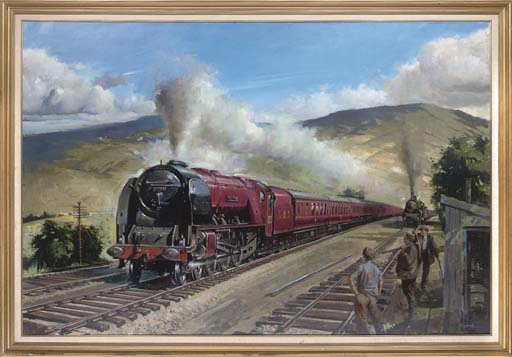The Duchess of Montrose, at full steam