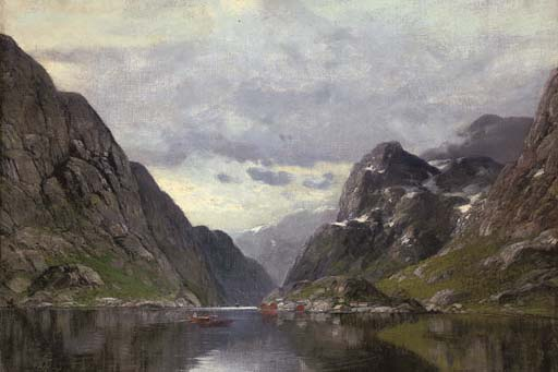 Rowing on a Fjord
