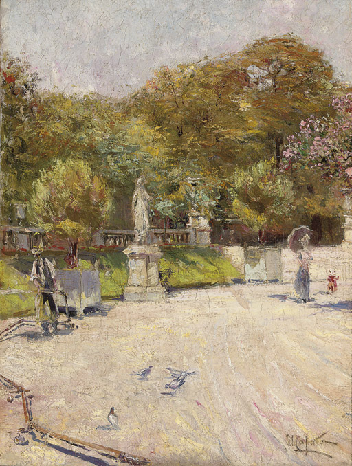 A stroll in the Luxembourg gardens