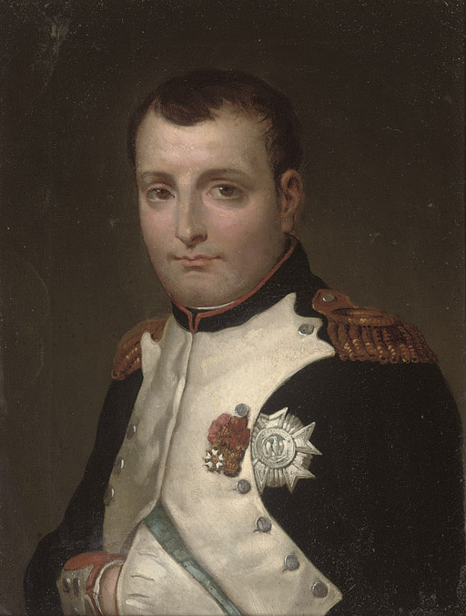 Napoleon in his study in the Tuileries Palace, a detail