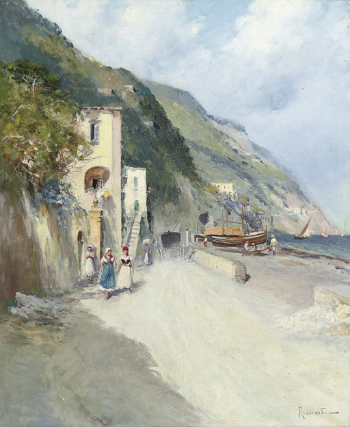 A fishing village on the Amalfi coast