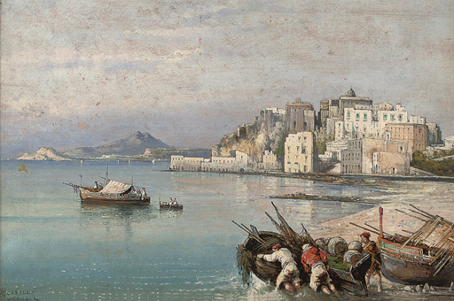 Fishermen before Pozzuolli
