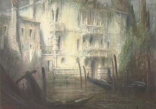 A Venetian backwater at dawn