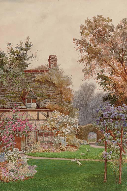 A garden in Egdean, Sussex