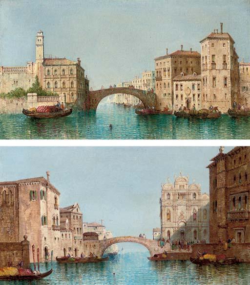 The Scuola di San Marco, Venice; and Off the Grand Canal, Venice