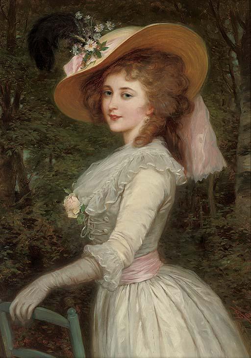 Portrait of an elegant lady