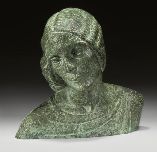 The artist's wife, Muriel