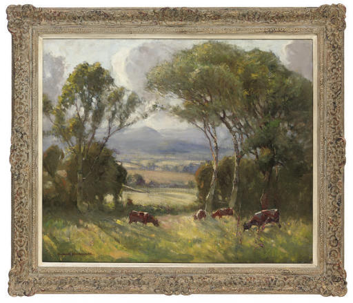 Summer across the fields