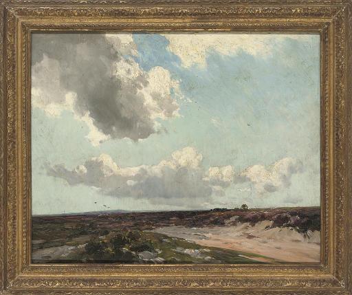 Haldon Moors, west Exeter, August 1928