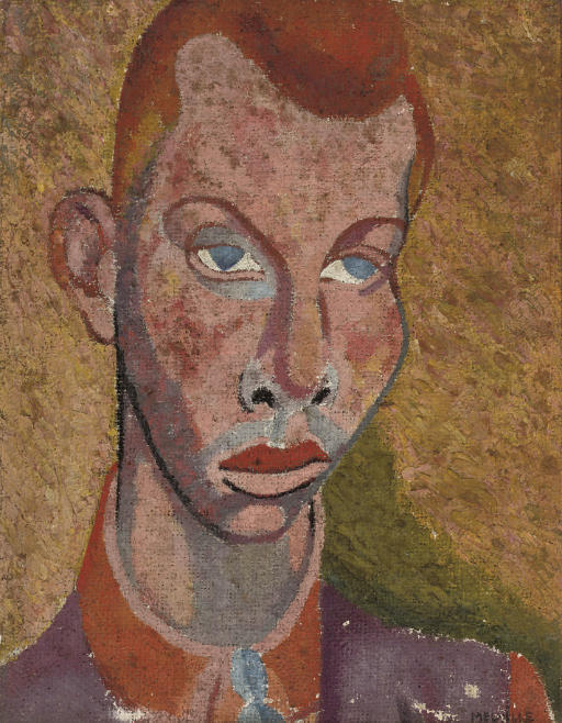 Portrait of a man (possibly John Banting)