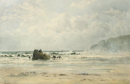A view of the Cornish coast