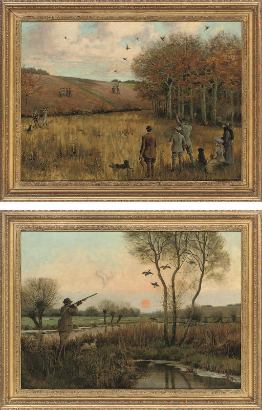 Pheasant shooting; and Duck shooting