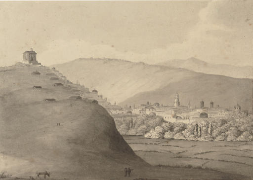 View of Tula on the approach to Moscow