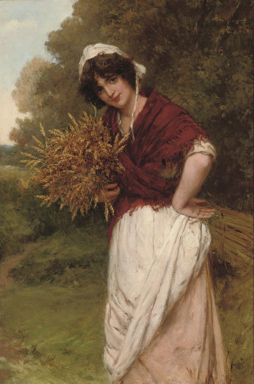 Gathering the corn