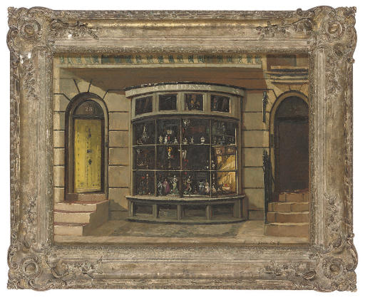 Halliday's shop window