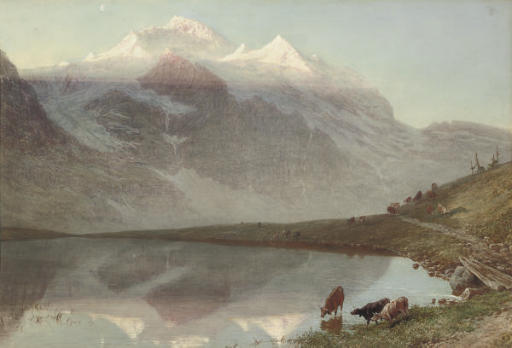 The Jungfrau at sunrise