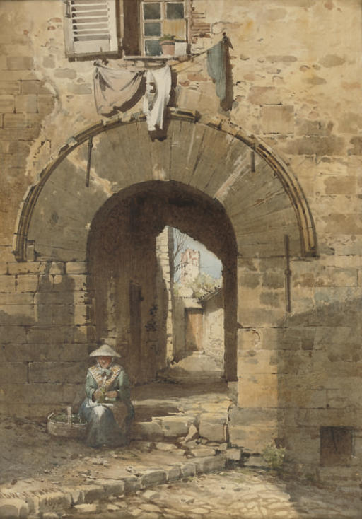 The Norman Arch, Old Town, Hyères