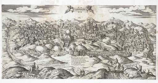 JERUSALEM -- DU PERAC, Stefano
