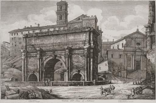 Views of Rome, from Antichita Romane